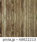 木目背景素材 / 色褪せたウッドデッキ風(縦) 48622213
