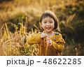 子供 川原 遊ぶ 48622285