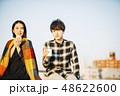 カップル 夫婦 アジア人の写真 48622600