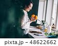 女性 キッチン 主婦の写真 48622662