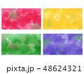 滲んだ絵の具の背景 壁紙 48624321