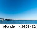 東京湾アクアライン 海と空 48626482