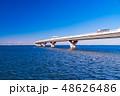 東京湾アクアライン 海と空 48626486