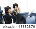 女性 会議 ビジネスウーマンの写真 48632379