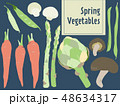 春野菜 48634317