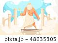 古い 古代 太古のイラスト 48635305