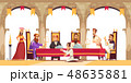 キング 王 王様のイラスト 48635881