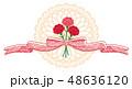 母の日 カーネーション レース 感謝 48636120