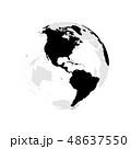 地球 ベクター 地理のイラスト 48637550