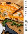 Hot homemade Italian pizza 48641748