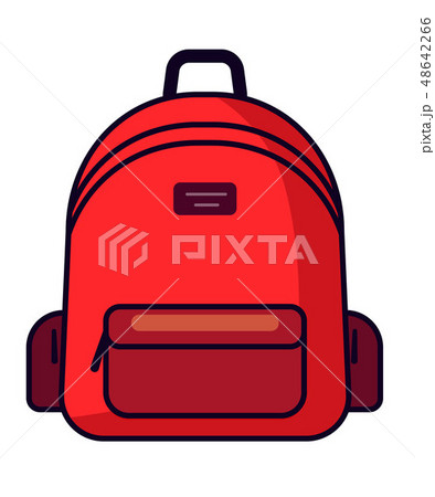 Backpack icon vector illustration 48642266