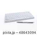 キーボードイメージ 48643094