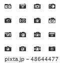 セット 組み合わせ 撮影のイラスト 48644477