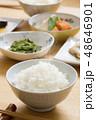 ごはん ご飯 食事の写真 48646901