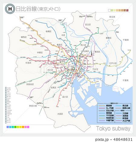 日比谷線(地下鉄·東京メトロ) 48648631