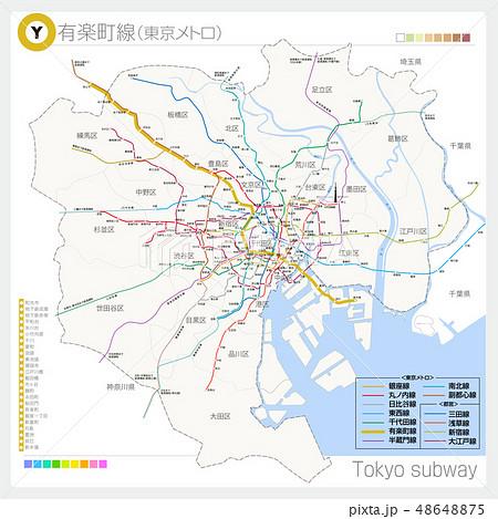 有楽町線(地下鉄·東京メトロ) 48648875