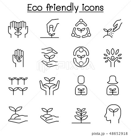 Eco friendly, conservation, saving nature, ecology 48652918