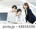 女性 ビジネスウーマン 人物の写真 48656390