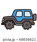 車 乗り物 自動車のイラスト 48656621