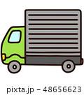トラック 車 乗り物のイラスト 48656623