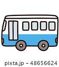バス 車 乗り物のイラスト 48656624