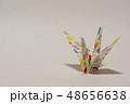 鶴 ツル 折り紙の写真 48656638