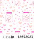 ハート ハートマーク 心臓のイラスト 48658083