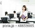 ビジネス オフィス パソコン ビジネスウーマン 48659005