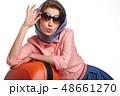 女性 旅行者 メスの写真 48661270