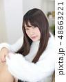 女性 女の子 ヘアスタイルの写真 48663221