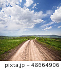 Long dirty road 48664906