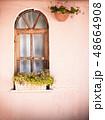 Old wooden window 48664908