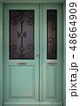 Old wooden door 48664909