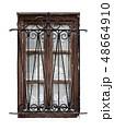 Old wooden window 48664910