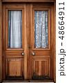 Old wooden door 48664911