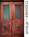 Old wooden door 48664912