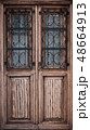 Old wooden door 48664913