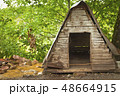 Empty dog hut 48664915