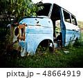 Abandoned Vehicle on Field 48664919