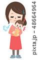 子育て 育児 困るのイラスト 48664964