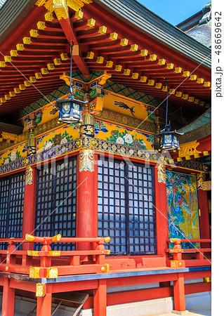 新緑の祐徳稲荷神社 【佐賀県鹿島市】 48669642