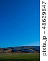 ソーラーパネル 太陽光パネル 太陽光発電の写真 48669847