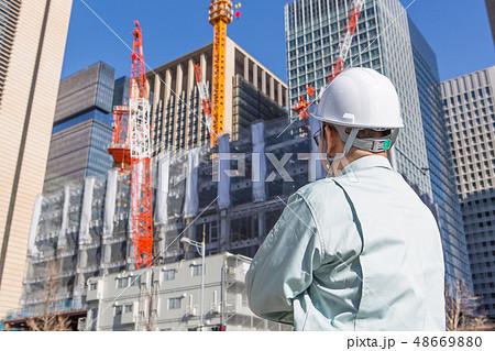 工事現場の写真 48669880