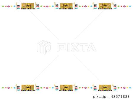 フレーム素材-端午の節句2 48671883