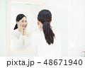 ビューティーイメージ・若い女性 48671940