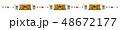 ライン素材-端午の節句2テク 48672177