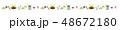 ライン素材-端午の節句4 48672180