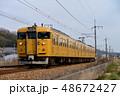 乗り物 列車 電車の写真 48672427