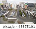 仙台駅東口 街並み 48675101