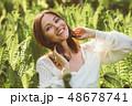 芽 蕾 花の蕾の写真 48678741